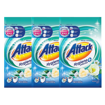 Attack Hygiene Plus Protection Powder Detergent