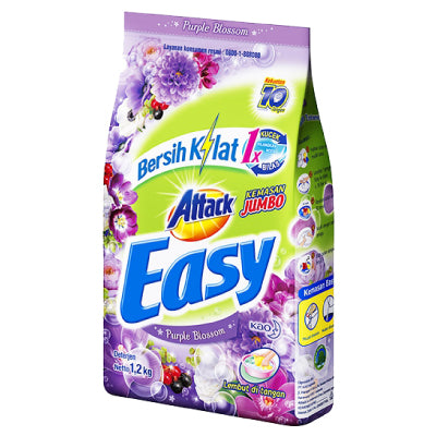 Attack Easy Detergent Powder (Purple Blossom)