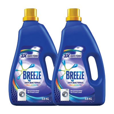 Breeze Anti-Bacterial and Colour Protect Liquid Detergent