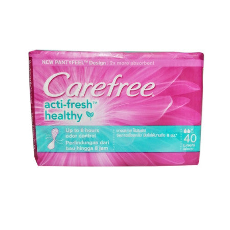 Carefree Acti-Fresh Healthy Panty Liners - dailymartsg