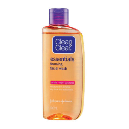 Clean & Clear Essentials Foaming Cleanser - dailymartsg