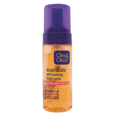 Clean & Clear Essentials Self-Foaming Facial Wash - dailymartsg