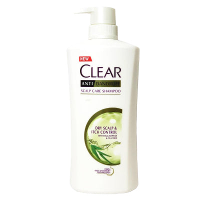Clear Dry Scalp and Itch Control Anti-Dandruff Shampoo
