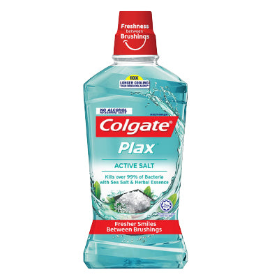 Colgate Plax Active Salt Mouthwash