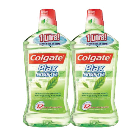 Colgate Plax Fresh Tea Mouthwash