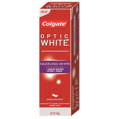 Colgate Optic White Toothpaste Dazzling White