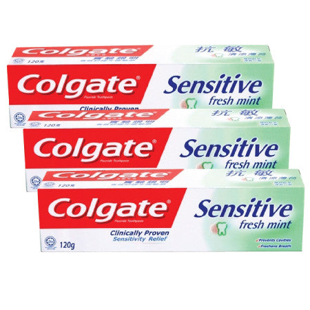 Colgate Sensitive Fresh Mint Toothpaste - dailymartsg