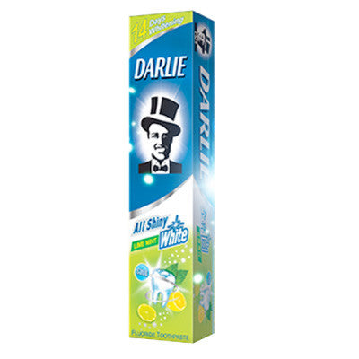 Darlie All Shiny White Lime Mint Toothpaste - dailymartsg