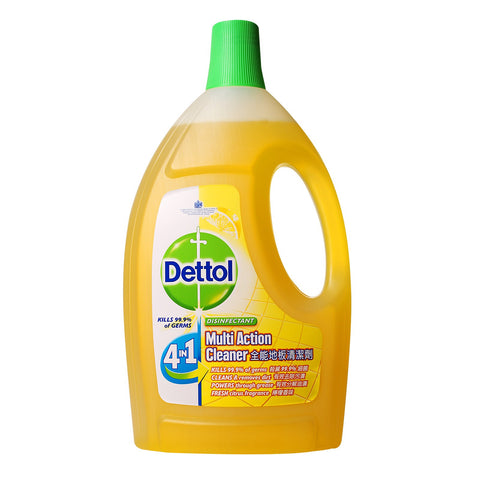 Dettol 4-In-1 Disinfectant Multi Action Cleaner (Citrus) - dailymartsg