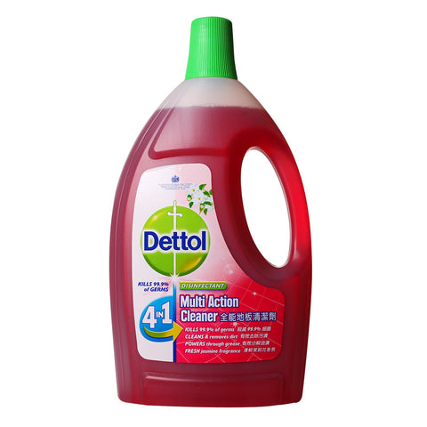 Dettol 4-In-1 Disinfectant Multi Action Cleaner (Jasmine)
