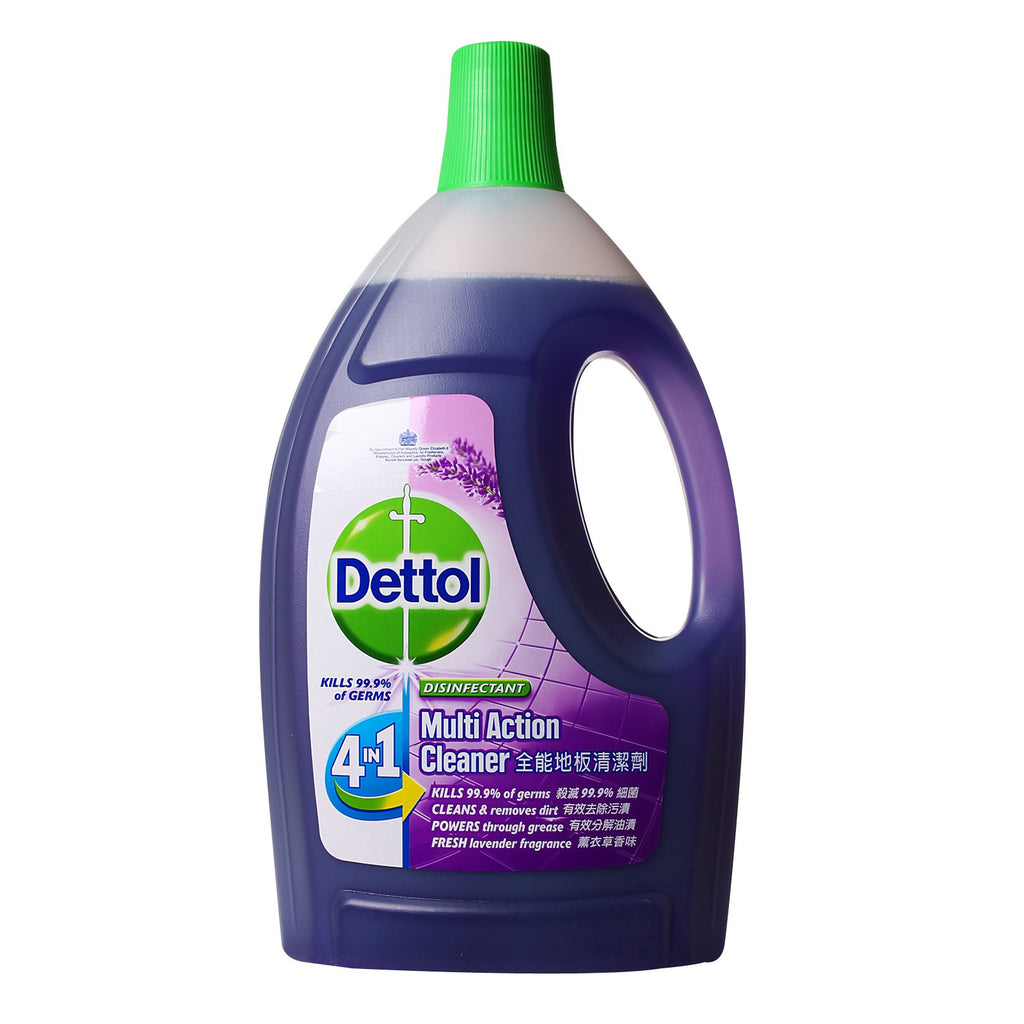Dettol 4-in-1 Disinfectant Multi Action Cleaner (Lavender) - dailymartsg
