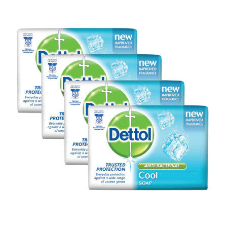 Dettol Cool Anti-Bacterial Bar Soap - dailymartsg