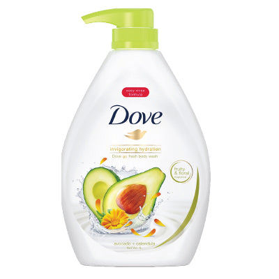 Dove Go Fresh Invigorating Hydration Body Wash