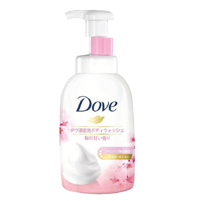 Dove Sakura Self Foaming Cloud Foam Bodywash