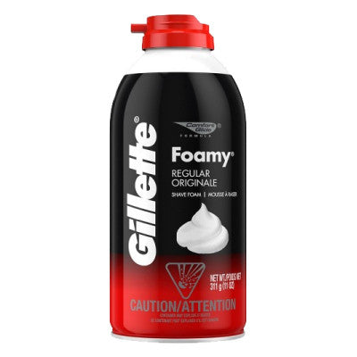 Gillette Foamy Regular Shaving Foam