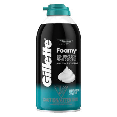 Gillette Foamy Sensitive Shaving Foam
