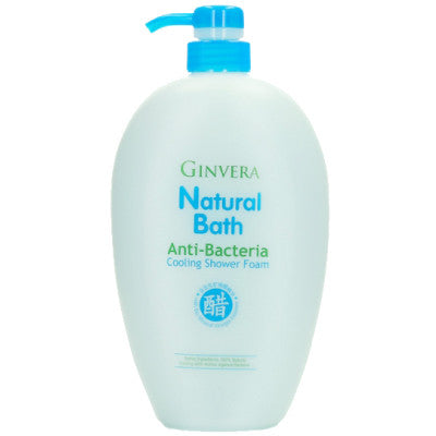 Ginvera Natural Bath Anti-Bacteria Cooling Shower Foam