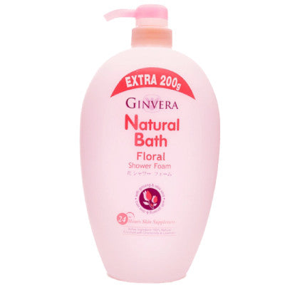 Ginvera Natural Bath Floral Shower Foam