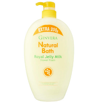 Ginvera Natural Bath Royal Jelly Milk Shower Foam