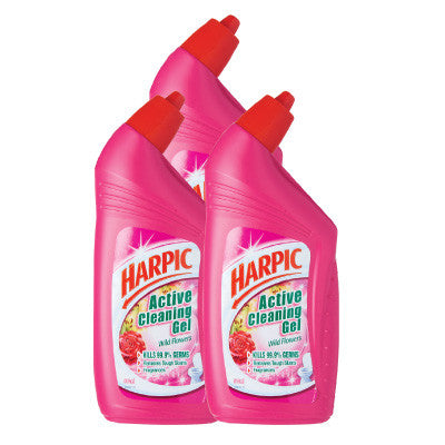 Harpic Wild Flowers Active Cleaning Gel