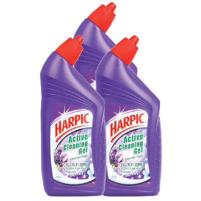 Harpic Lavender Active Cleaning Gel