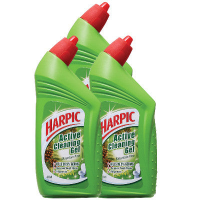 Harpic Mountain Pine Active Cleaning Gel Daily Mart Sg