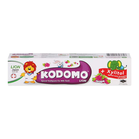 Kodomo Children's Toothpaste (Grape)