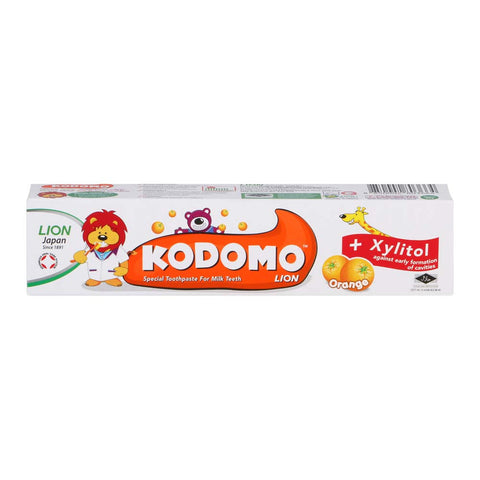 Kodomo Children's Toothpaste (Orange)