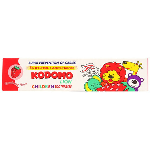 Kodomo Children's Toothpaste (Strawberry)