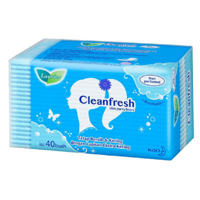 Laurier Clean Fresh Non-Perfumed Panty Liners