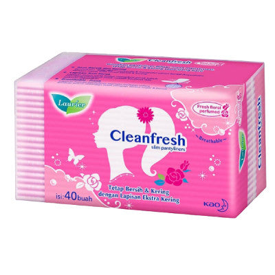 Laurier Clean Fresh Perfumed Panty Liners