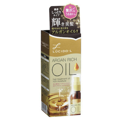 Lucido-L Argan Oil Hair Treatment Oil – Rich Moisture
