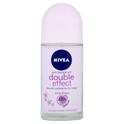 Nivea Double Effect Anti-Perspirant Roll-On Deodorant