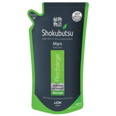 Shokubutsu Men Recharge Body Foam