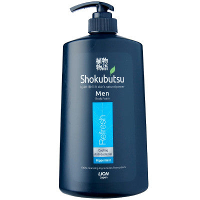 Shokubutsu Men Refresh Body Foam