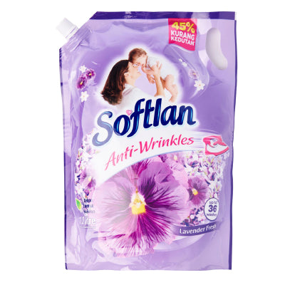 Softlan Lavender Fresh Fabric Conditioner Refill Pack