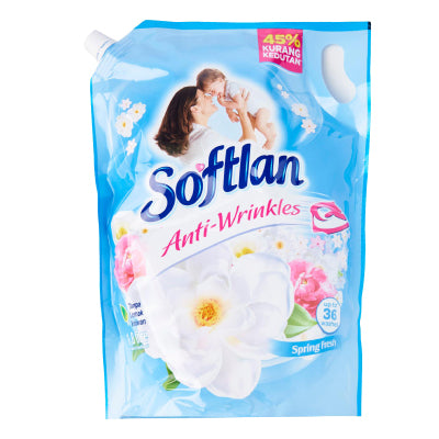 Softlan Spring Fresh Fabric Conditioner Refill Pack