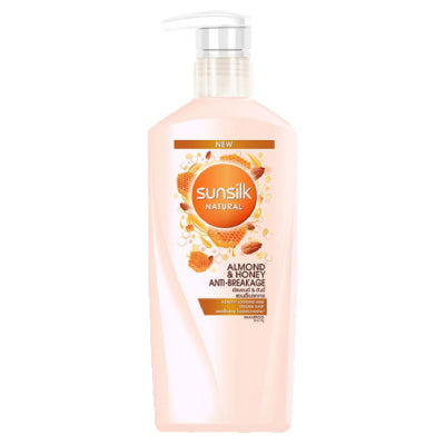 Sunsilk Natural Almond and Honey Anti-Breakage Shampoo
