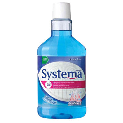 Systema Gum Care Mouth Wash – Blue Carribbean