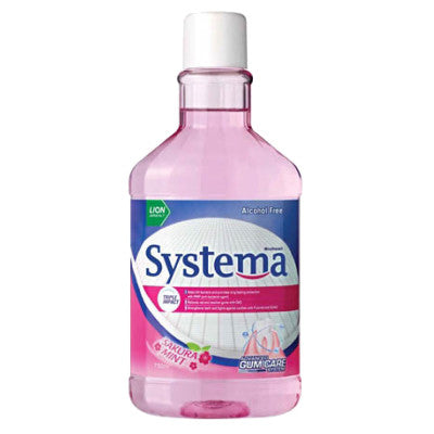 Systema Gum Care Mouth Wash – Sakura Mint