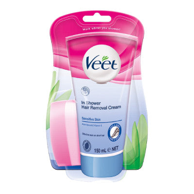 Veet In-Shower Hair Removal Cream Sensitive Skin
