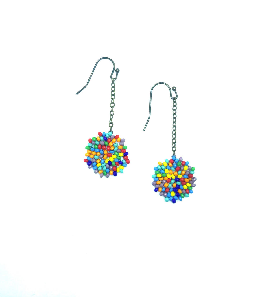 Enkei Earrings in Primary Colors