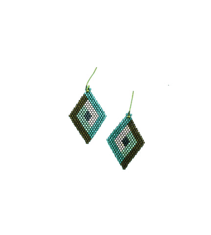 Kiruto Earrings in unique color pattern