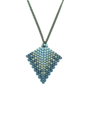 Kurozudo Necklace (small) in blues