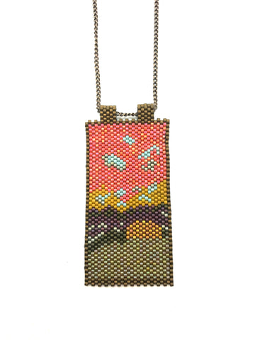 Keikan Necklace - Sunset