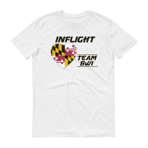 SWA - InFlight – Team BWI Men's T-Shirt
