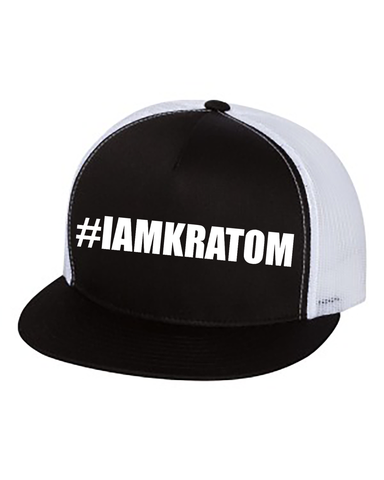 #IAMKRATOM Embroidered Trucker Hat
