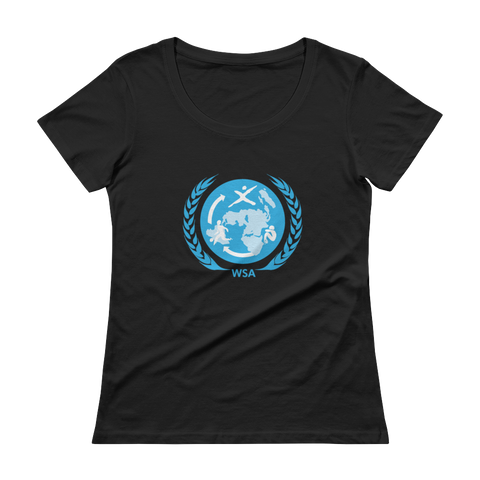 World Sports Alliance - Ladies' Scoopneck T-Shirt