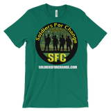 Soldiers For Change - T-Shirt - Men's / Unisex - Round Logo