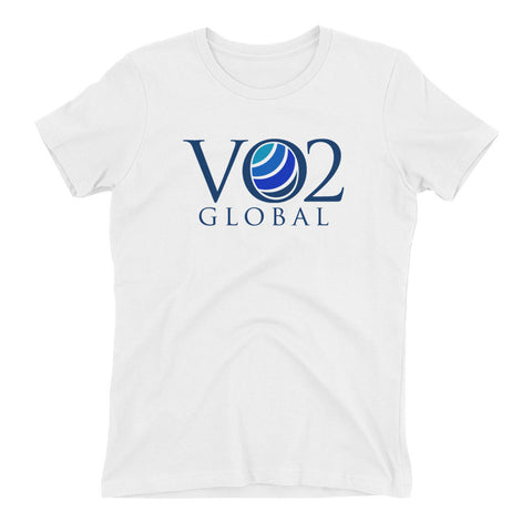 VO2 Global - Women's t-shirt - Blue Logo